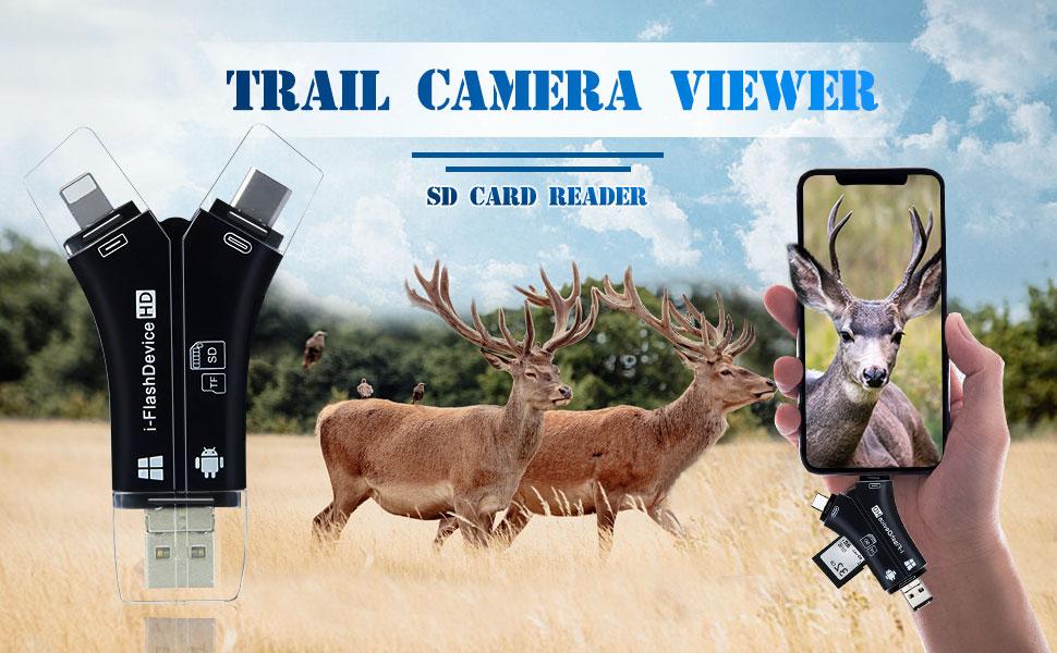 trail camera card reader