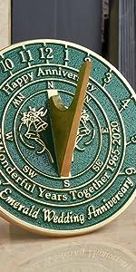 wedding sundial gift