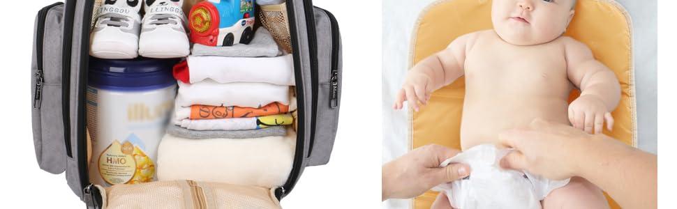 Large diaper bag