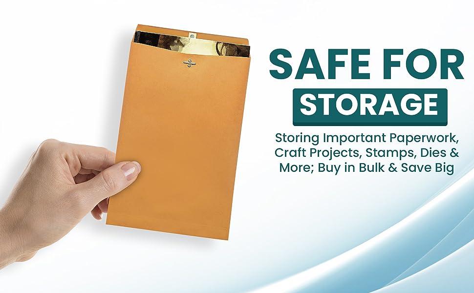 safe for storage