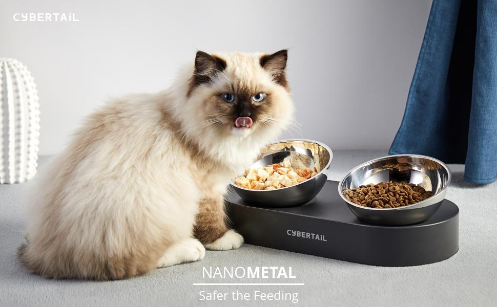PETKTI CAT FOOD BOWL RAISED