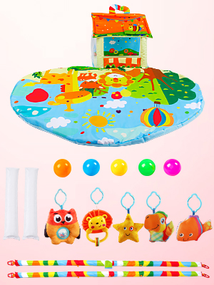 baby gym mat play mat newborn baby activity mat baby floor mat baby play gym baby play mat