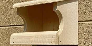 Eastern White Pine Wood is a great material for building birdhouses. It is sustainably grown.