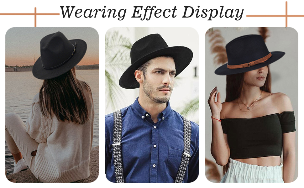 Sombrero de Fieltro hat