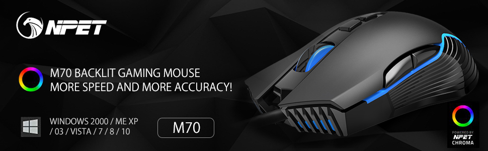 M70 Gaming Mouse
