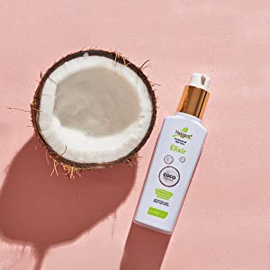 Coconut Oil Naissant Sofren Hydrate Hair Damage Termoprotect Protect Dyed Natural