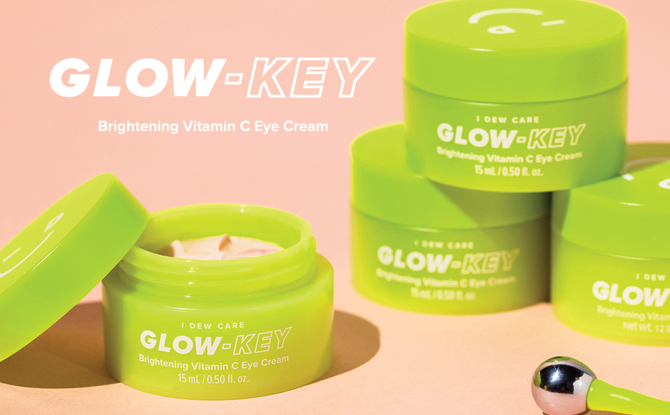 i dew care, glow key, eye cream