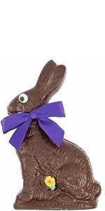 dark chocolate easter bunny bunnies basket gift