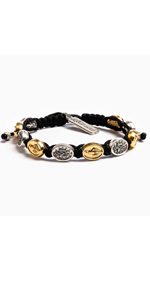Mary Blessing Bracelet - Mixed Medals