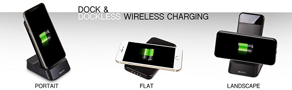 sidetrak wireless charger charging pad q4 mobile docking station power cordless travel portable