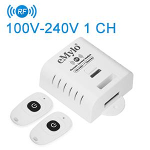 AC80 260V 1 CH Drahtloser Fernsteuerungsschalter Empfänger mit 2