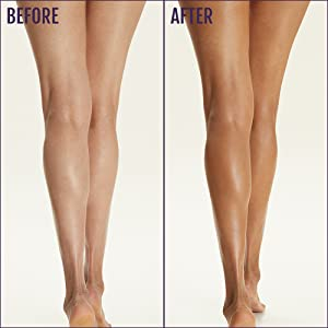 Firming Gel lifts, firms, and evens out the surface of your skin on contact boy coverage legs tan