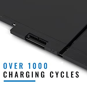 1000 charge cycles