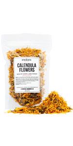 Dry Calendula Flowers