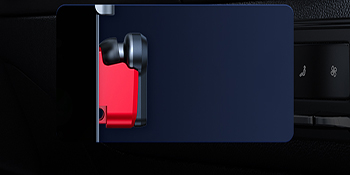 Magnetic Bluetooth headset