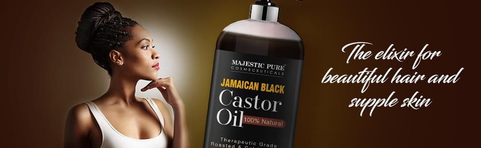 castor oil, hair growth oil