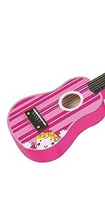 Lelin Pink Guitar for kids