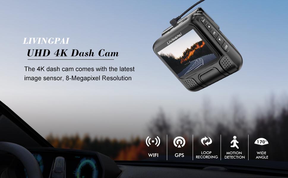 Dash cam 4k