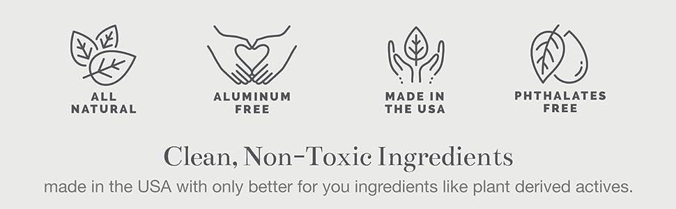 detox shea butter essential ultra sensitive skin vegan odor deodrants deordant woman