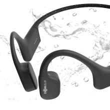 IP68 rated. Fully waterproof and submersible up to 2 meters deep for 2 hours. Ideal for swimming.