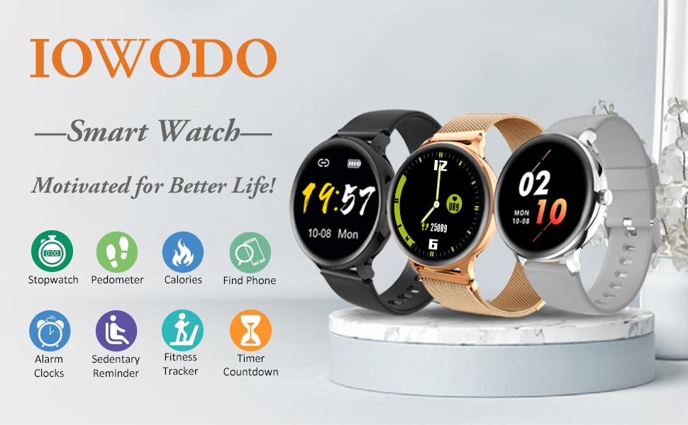 iowodo smart watch