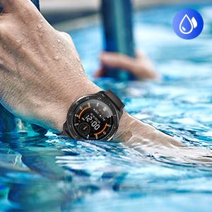 smart watch for waterproof