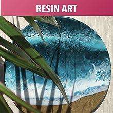 Epoxy Resin Liquid Art Pouring