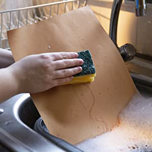 Placas de cobre para parrilla Kraftex (Paquete GRANDE de 4 unids). Placas de cobre con antiadherente para barbacoas, hornos y asadores. Placas para ...