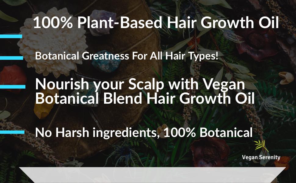 Hemp Oil for hair growth, evening primrose oil for hair, hair growth