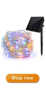 Ankway Solar Powered String Lights