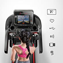 treadmill with display