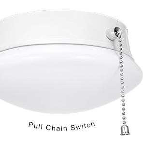 Modern LED Ceiling Light with Pull Chain