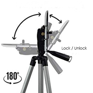mobile phone holder for tripod selfie stand tripod leg tiktok clip bracket mounting screw knob good