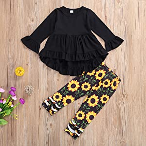 Sunflower outfits set