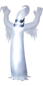 12 Feet Tall Halloween Inflatable Scary Spooky Ghost