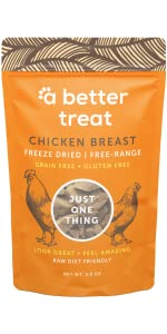 Freeze Dried Chicken Breast A Better Treat Just One Thing
