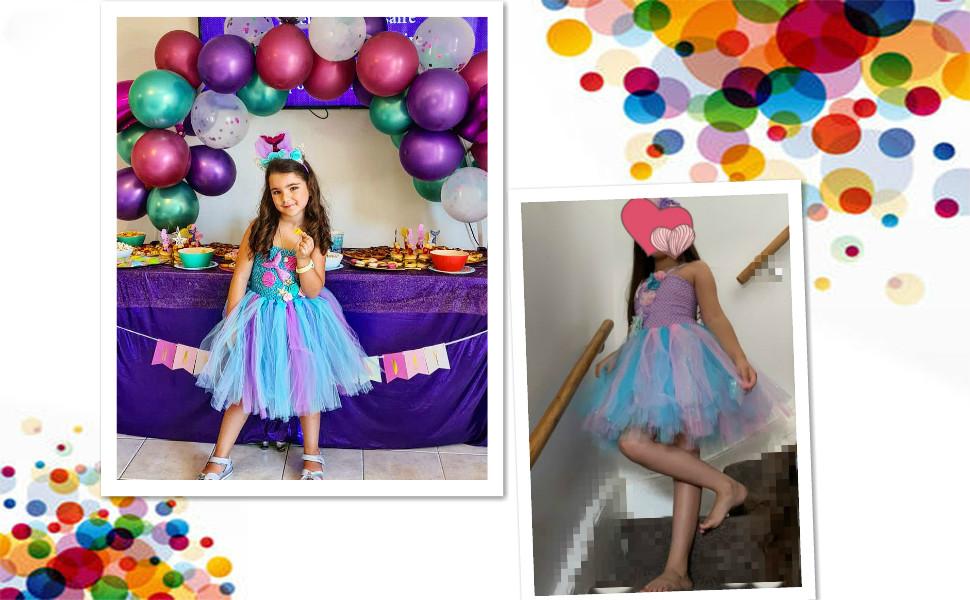 mermaid costume for girls