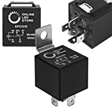 40/30A Bosch Style 5-Pin Relay Kit
