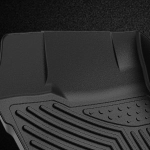 oEdRo Floor Mats Compatible for 2020 Jeep Gladiator