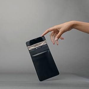 silent pocket farady sleeve mission darkness bag black hole edec bag fashion case faraday sleeve
