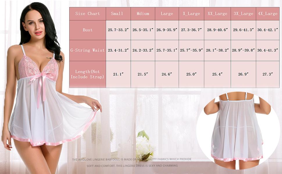 Avidlove babydoll dress
