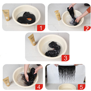 Water Wave Human Hair Extensions