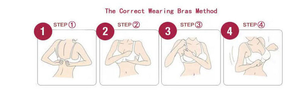The Correct Wearing Bras Method