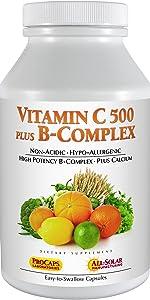 Vitamin C 500 plus B-Complex