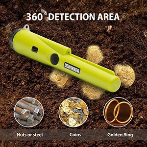 360° detection area