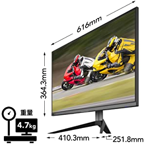 """Pixio PX279RP 27"""" 240Hz 1ms HDR Gaming Monitor"""