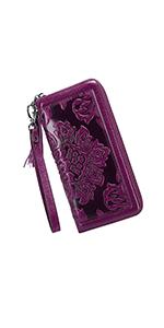 Designer Floral Wallet
