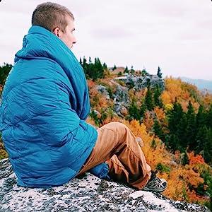 Mike stonewall peak olive blanket