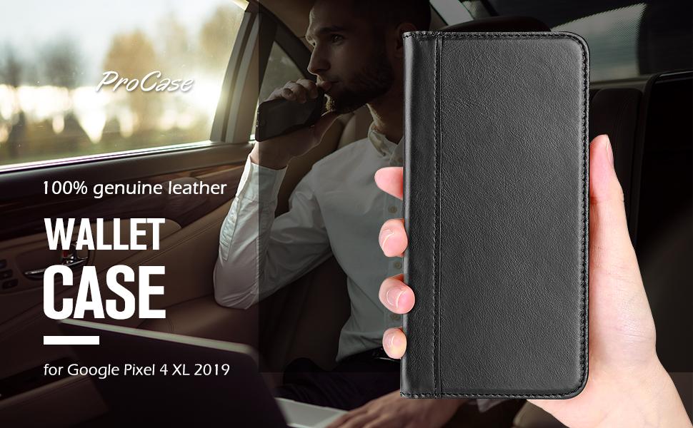 pixel 4 Xl leather case