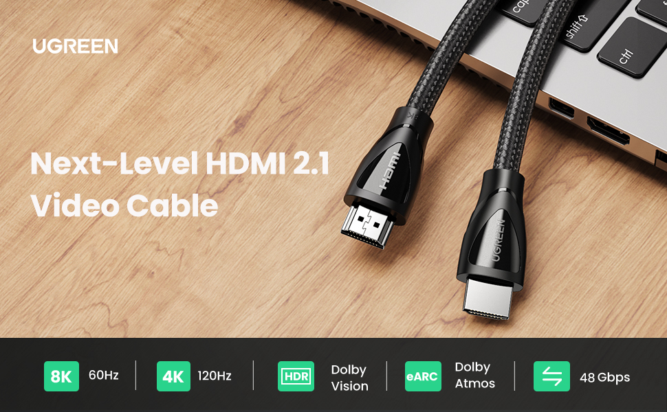 8k hdmi 2.1 cable 48gbps